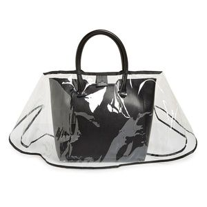 The mini Handbag Raincoat for designers purses